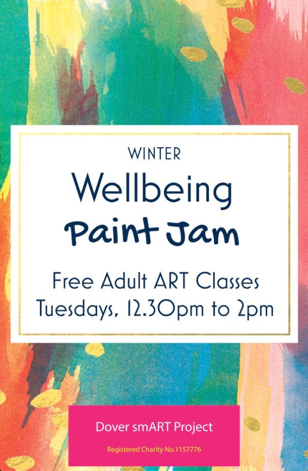 Wellbeing Paint Jam